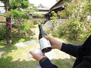 お酒は四日市四郷の神楽酒造です。