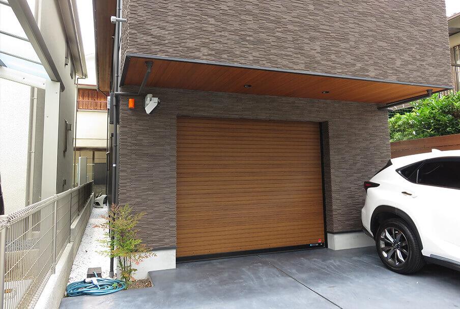 ガレージのデッドスペース