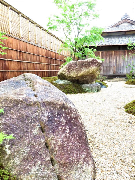 登録有形文化財の庭